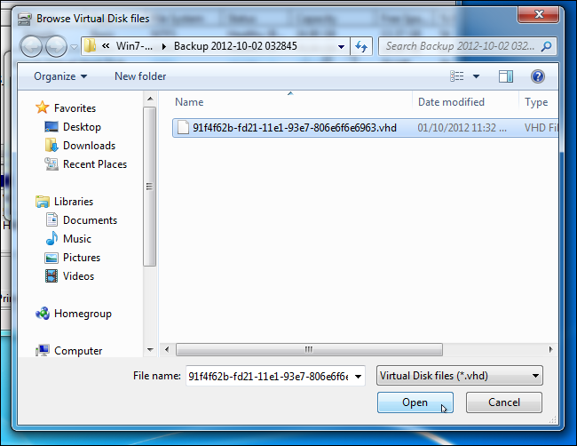 How to Mount a Windows 10/8/7 System Image Backup as a VHD?