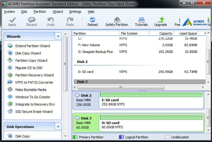 Clone SD Card to Larger Card with SD Card Clone Software