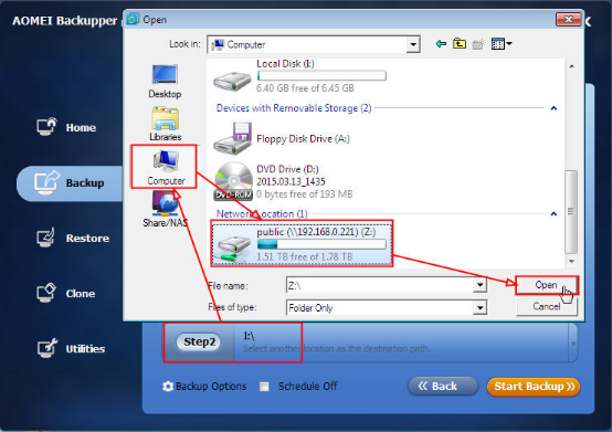 how to recover documents after disconning from map network drive