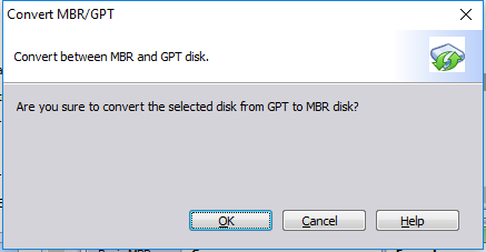 GPT Partition Style Fix to Successfully Install Windows 10/8/7