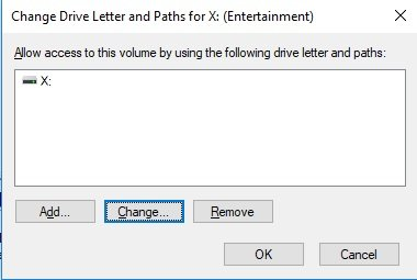 How to Change/Rename/Assign Drive Letter in CMD Windows 10/7
