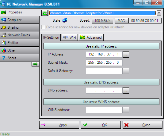 Make Windows PE connect to Network or Internet