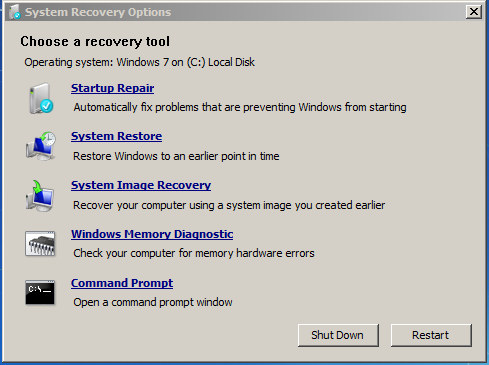 Windows Recovery Environment скачать