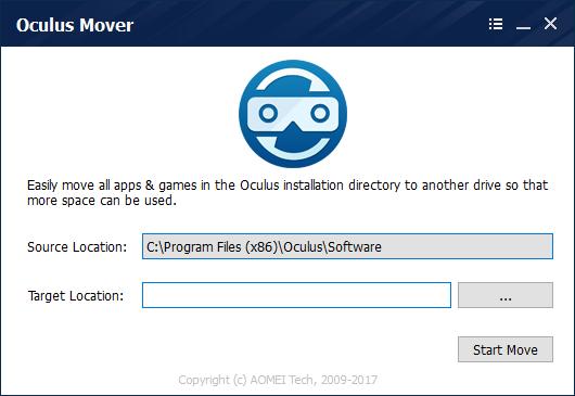 Oculus Mover